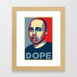 Karl Pilkington Campaign Poster Framed Art Print