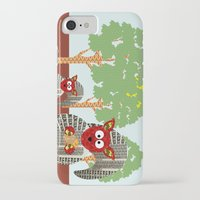 kangaroo iPhone & iPod Cases featuring Kangaroo by Design4u Studio