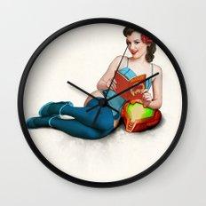 Metroid No.1 Wall Clock