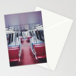 Lonely Metro Stationery Cards