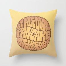 St. Alfonzo's Pancake Breakfast Throw Pillow