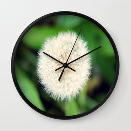 Little Dandelion Wall Clock