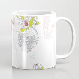 Red Ohia Lehua and Iwi Bird Coffee Mug