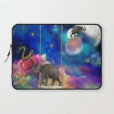 Space elephants Laptop Sleeve