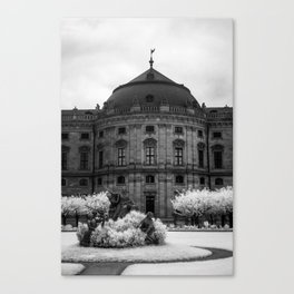 The Residenz Palace Canvas Print