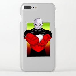 Jiren The Gray Clear iPhone Case