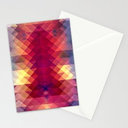 Abstract Geometric Spectrum Stationery Cards