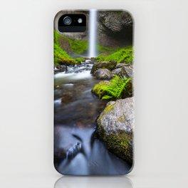Latourell Falls. iPhone Case
