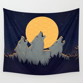 Midnight Sound Wall Tapestry