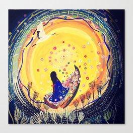 Fulfilled.... | Yuko Nagamori Canvas Print