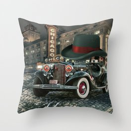 Don Cadillacchio Throw Pillow