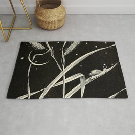 Night Snail Rug