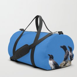 Ninjas in feathers Duffle Bag