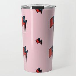 Hallo Spaceboy in Pretty Pink Rose Travel Mug