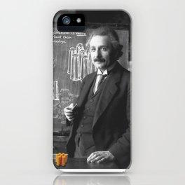 Imagination > Knowledge iPhone Case