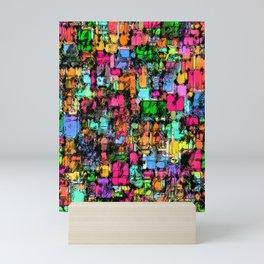 sample collection Mini Art Print