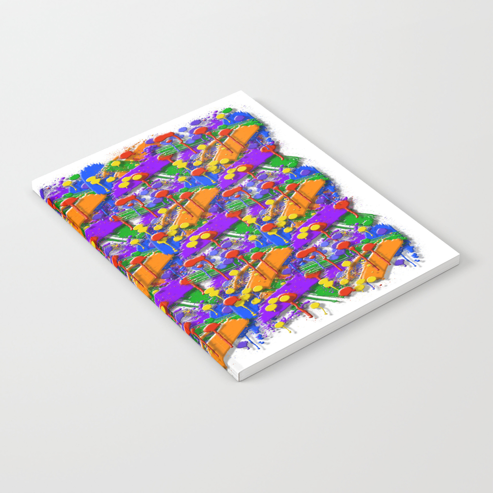The Big O (drip Porn Pattern) Notebook by Wayneedsonbryan NBK856007