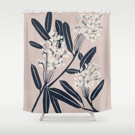 Boho Botanica Shower Curtain