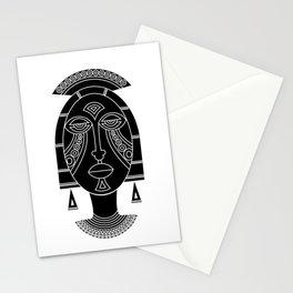 Mask I Stationery Cards