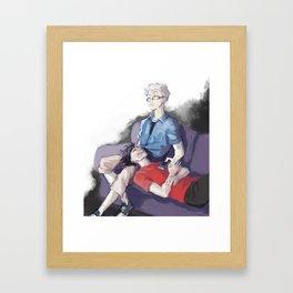 Kurotsukki Framed Art Print