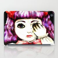 doll iPad Cases featuring Doll by Kennedy Vacca