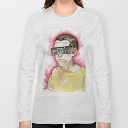 Watercolor drawing Long Sleeve T-shirt