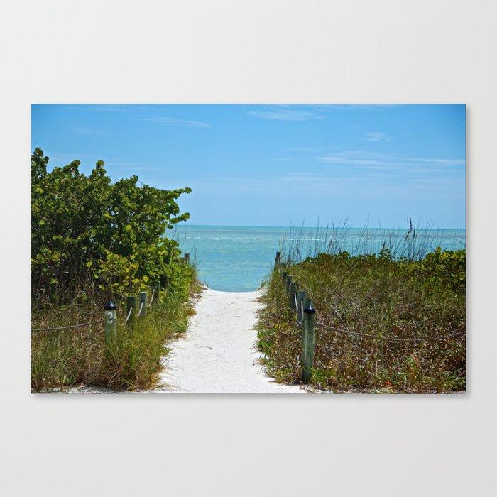 """"""" Return To The Beach """"  Canvas Print"""