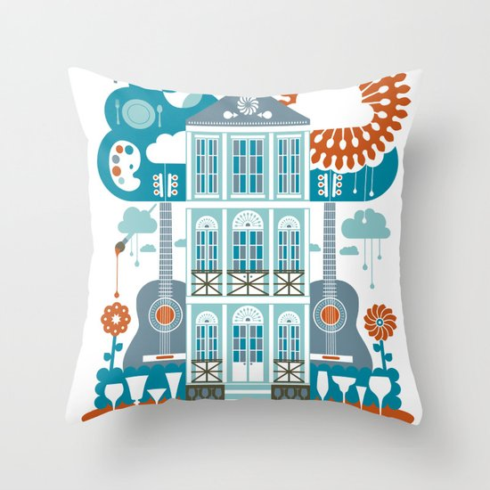 Festive Throw Pillow