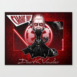 The Darth Vader concept! Canvas Print