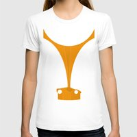 f1 T-shirts featuring Silhouette Racers - McLaren F1 by Salmanorguk