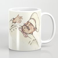 chef Mugs featuring CHEF by Mike Koubou
