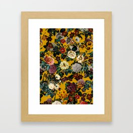 Exotic Garden V Framed Art Print