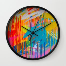 freedom of colours no.4 Wall Clock