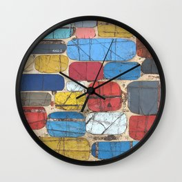 Charmed As Usual Wall Clock