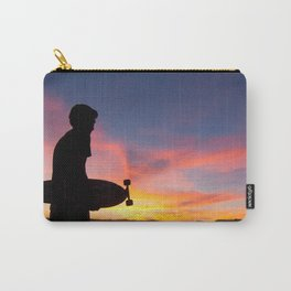 Longboard Silhouette Carry-All Pouch