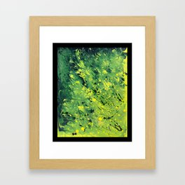 Wolf Flora, Gut Biome Framed Art Print