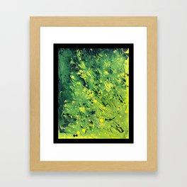 Wolf Flora, Gut Biome Framed Art Print