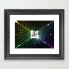 Sugary Star Framed Art Print