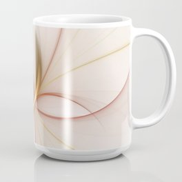 Nobly In Gold And Copper, Fractal Art Coffee Mug
