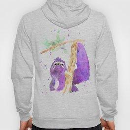 Purple Sloth Hoody