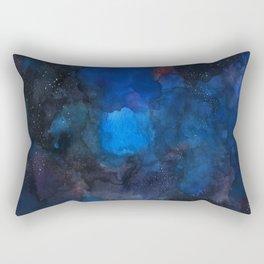 night sky with stars Rectangular Pillow