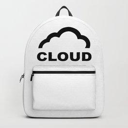 Cloud Logo Backpack
