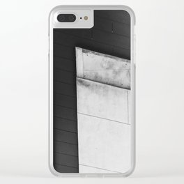 Abstract High Line Clear iPhone Case