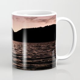 Lake in the mountains at afternoon Coffee Mug
