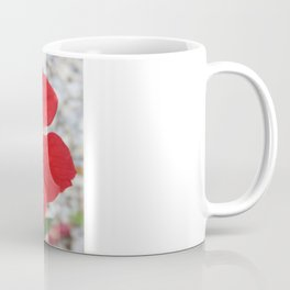 A Stunning Scarlet Hibiscus Tropical Flower Coffee Mug