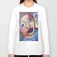 river Long Sleeve T-shirts featuring River by S.Queimado-Lima