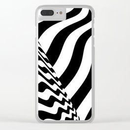 sudden change Clear iPhone Case