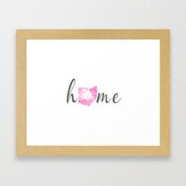 Hom Ohio Framed Art Print
