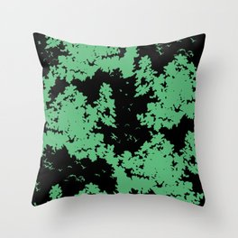 Song of nature - Night Throw Pillow