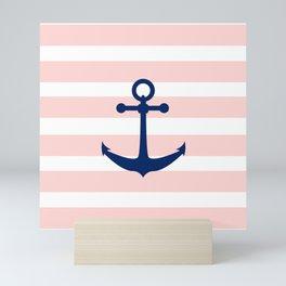 AFE Nautical Navy Ship Anchor Mini Art Print